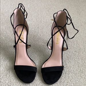 Lulu's Lace Up Heels